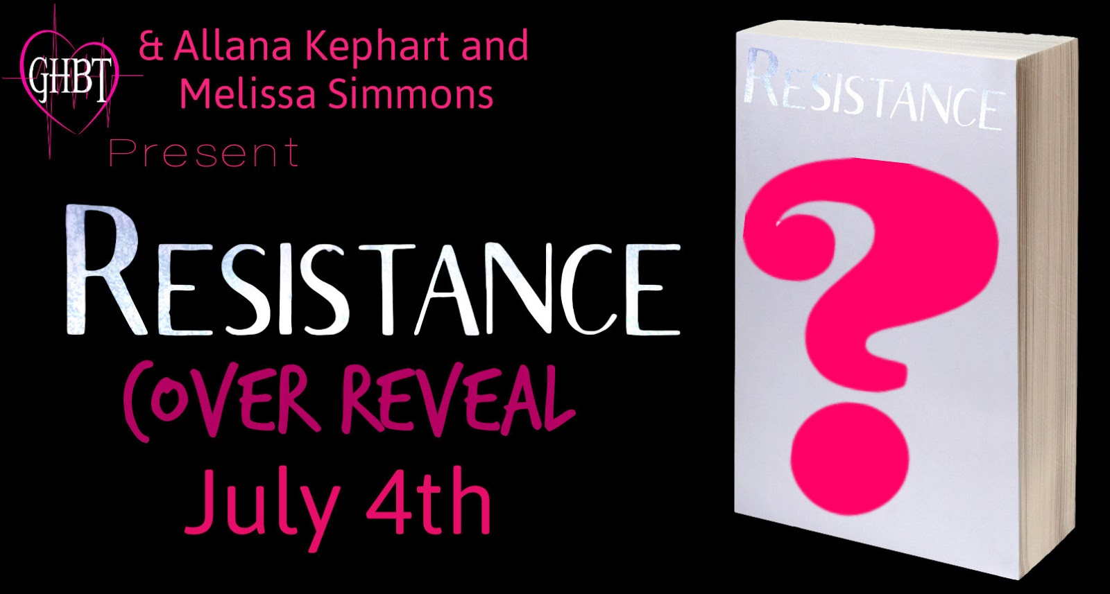 Cover Reveal! Resistance By Allana Kephart And Melissa Simmons