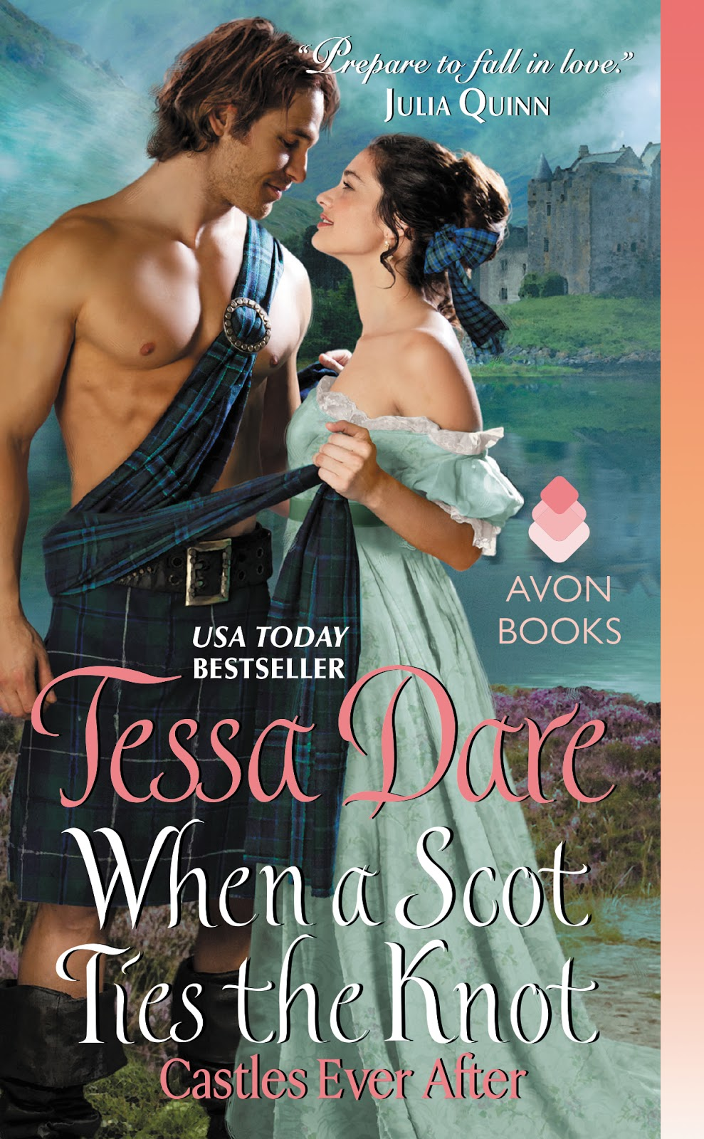 Blog Tour! When A Scot Ties The Know By Tessa Dare (@avonbooks)
