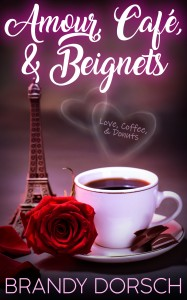 Amazon Cover - Book Cover - Amour, Cafe, & Beignets by Brandy Dorsch